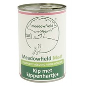 Meadowfield 6x meadowfield meat blik kip / kippenhart
