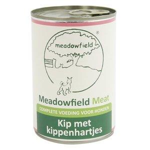 Meadowfield 6x meadowfield meat blik kip / kippenhart