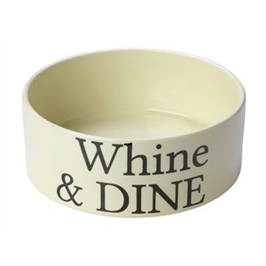 House of paws House of paws voerbak hond whine & dine creme