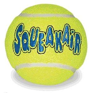 Kong Kong squeakair tennisbal geel met piep