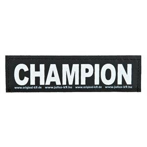 Julius k9 Julius k9 labels voor power-harnas / tuig champion