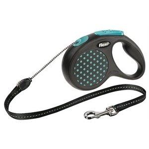 Flexi Flexi rollijn design cord blauw