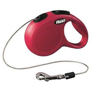Flexi Flexi rollijn classic cord rood