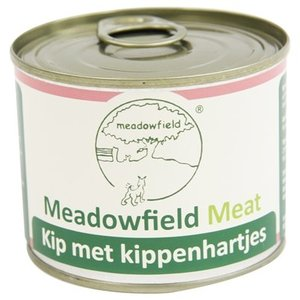 Meadowfield Meadowfield meat blik kip / kippenhart