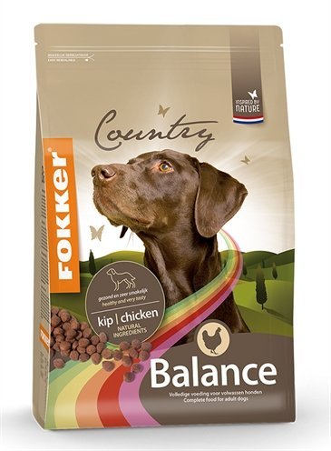 Fokker Country Balance hondenvoer 13 kg