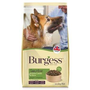 Burgess Burgess dog sensitive brits lam / rijst