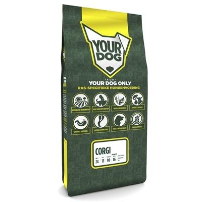 Afbeelding Senior 12 kg Yourdog corgi hondenvoer door Online-dierenwinkel.eu