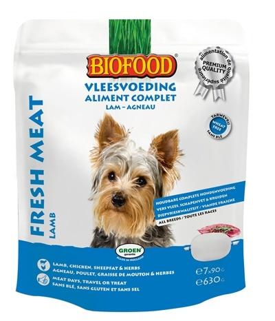 Biofood Vleesvoeding Lam hondenvoer Per verpakking
