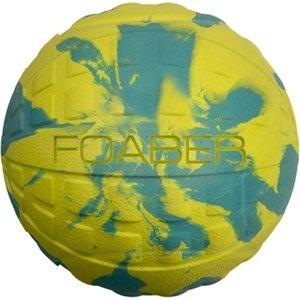 Foaber Foaber bounce bal foam / rubber blauw / groen
