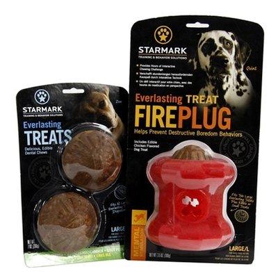 Starmark Starmark everlasting fire plug voerbal met treat veggie