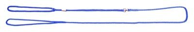 Martin sellier showlijn voor hond nylon blauw 4 mmx120 cm