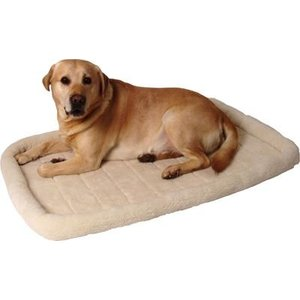 Merkloos Ligmat voor bench / draadkooi comfort ivoor