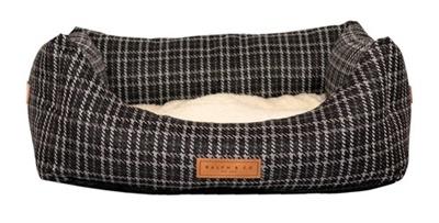 Ralph&co hondenmand ascot tweed zwart 50x45x25 cm