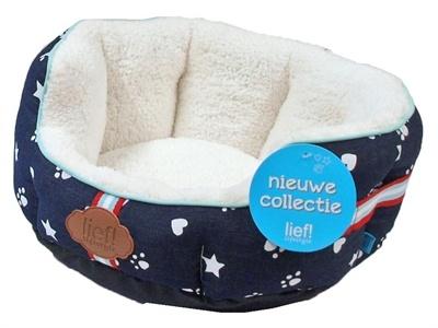 Lief! Unisex Mand - kat & kleine hond 40 cm
