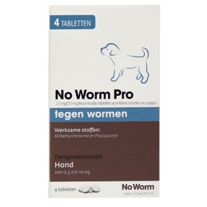 Exil Hond no worm pro