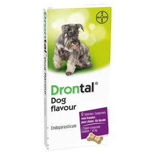 Bayer Bayer drontal tasty ontworming hond