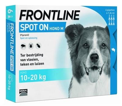 Frontline Spot on Hond M 6 pipetten