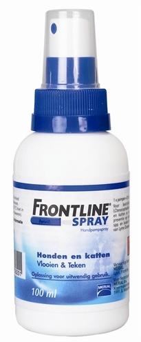 Frontline Handpompspray vlooien & teken bij Hond en Kat 100 ml