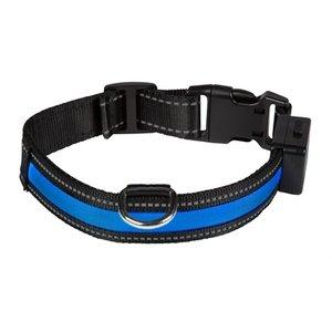 Eyenimal Eyenimal halsband usb licht blauw / zwart
