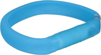 Trixie - Lichtgevende Halsband met USB - Blauw