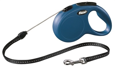 Flexi Classic Cord 5 meter Small Blauw