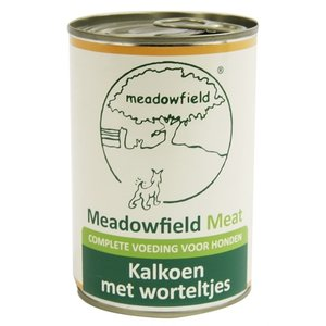 Meadowfield 6x meadowfield meat blik kalkoen / worteltjes