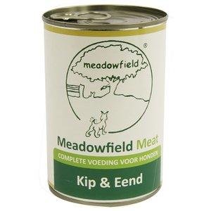 Meadowfield 6x meadowfield meat blik kip / eend