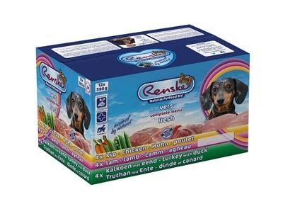 Renske Vers Multidoos (12 x 395 gr) hondenvoer 1 tray (12 x 395 gram)