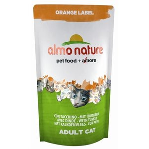 Almo Almo nature cat droog orange label kalkoen