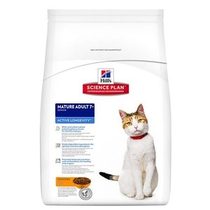 Hill's science plan Hill's feline mature adult active longevity kip