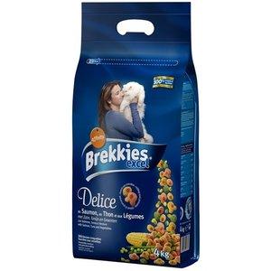 Brekkies Brekkies kat delice zalm gevuld met tonijn en groenten