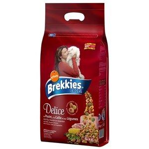 Brekkies Brekkies kat delice kip gevuld met kalkoen en groenten