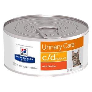 Hill's prescription diet 24x hill's feline c/d minced