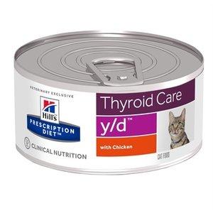 Hill's prescription diet 24x hill's feline y/d