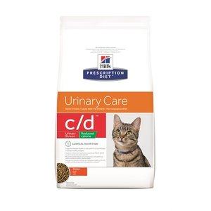 Hill's prescription diet Hill's feline c/d urinary stress reduced calories