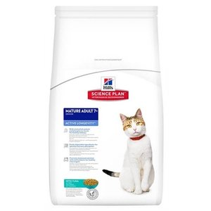 Hill's science plan Hill's feline mature adult active longevity tonijn