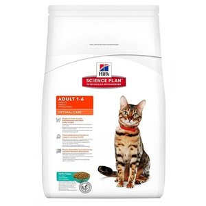 Hill's science plan Hill's feline adult optimal care tonijn
