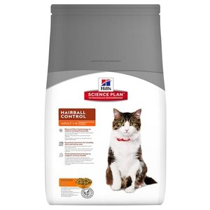 Hill's science plan Hill's feline adult hairball control
