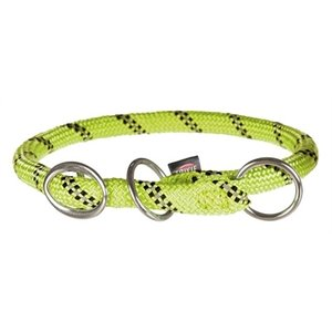 Trixie Trixie halsband hond sporty rope lichtgroen