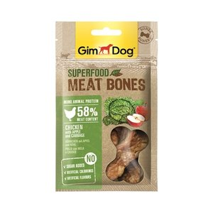 Gimdog Gimdog superfood meat bones kip / appel / kool