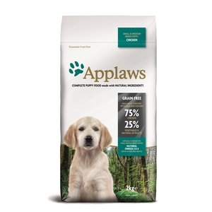 Applaws Applaws dog puppy small / medium chicken