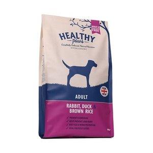 Healthy paws Healthy paws adult konijn / eend / zilvervliesrijst