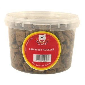 Dog treatz Dog treatz lam / rijst koekjes