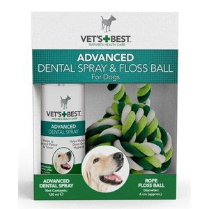 Vets best Vets best dental spray met floss kit