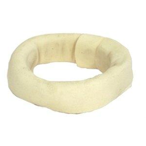 Merkloos Geperste ring wit
