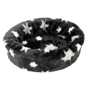 Petcomfort Petcomfort hondenmand bont ster zwart