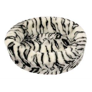 Petcomfort Petcomfort hondenmand bont tijger wit