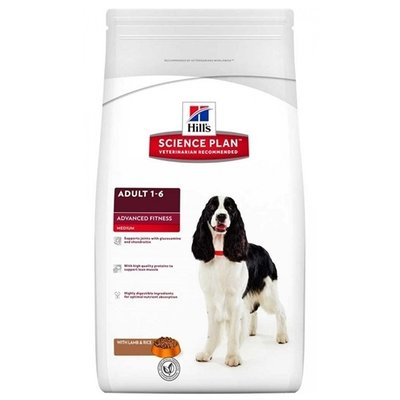 Hill's science plan Hill's canine adult advanced fitness lam/rijst