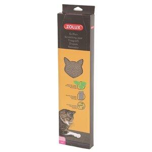 Zolux Zolux krabplank karton met catnip