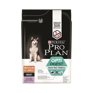 Pro plan Pro plan dog adult medium / large sensitive digestion grainfree turkey